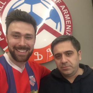 Brit Will Thompson dreams of Europa League after rocking up in Armenia as a tourist, founding a team… and reaching top division