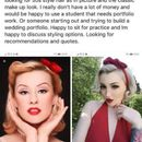 Cheeky bride asks make-up artist to do her wedding look for free – and brands her a 'selfish b***h' when she declines