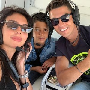 Cristiano Ronaldo 'helping Juventus with transfers this summer' as he and family fly home from Greece holiday