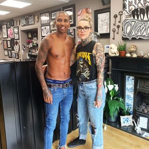Ashley Young shows off new tattoo.. but Man Utd fans tell him to spend summer working on crosses instead