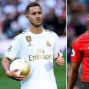 Hazard urges Pogba to leave Man Utd for Real Madrid revolution as Spanish giants eye £150m transfer