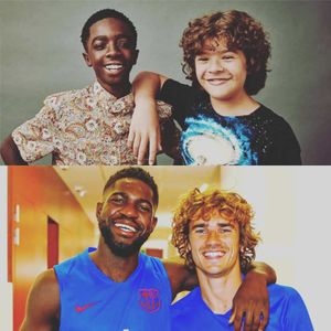 Antoine Griezmann sends fans into hysterics with amazing comparison of him and Samuel Umtiti with Stranger Things' Dustin and Lucas