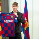 Barcelona complete signing of 16-year-old English sensation Louie Barry from West Brom after he turned down PSG