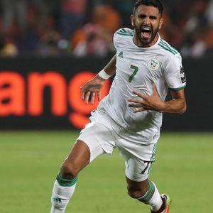 Man City star Riyad Mahrez scores brilliant 95th-minute free-kick to send Algeria to Africa Cup of Nations final