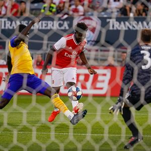 Arsenal fans hail the 'new Lionel Messi' after watching kid Bukayo Saka, 17, in Colorado Rapids win