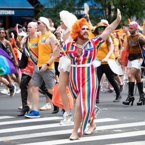 We took the first ever Pride Flight from London to New York — and it was no drag