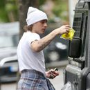 Brooklyn Beckham gets TWO parking tickets in less than four hours as he heads to work in London