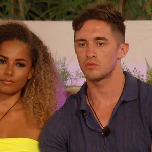 Love Island's Amber well and truly pies Michael by snogging Greg in bed