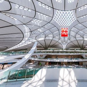 China's new £9bn mega airport with 'world's biggest terminal' opens this month