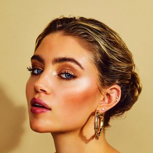 Look like you're back on holiday, thanks to the metallic hue of the moment – bronze