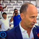 Nasser Hussain suffers wardrobe malfunction during raucous England Cricket World Cup celebrations