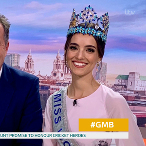 Piers Morgan claims wife Celia texting Richard Arnold was 'revenge' for him flirting with Miss World last week