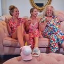 Inside pregnant Lydia Bright's house with statement pink sofa and luxurious white bedroom as she prepares for life as a single mum