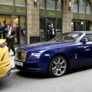 Luxury supercars flock London streets as wealthy owners show off flashy wheels