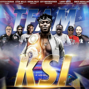 KSI training team for Logan Paul rematch includes Mayweather's uncle, pal Viddal Riley and cutman Stitch Duran