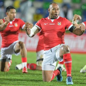 What is the Tonga 'Haka' called, what are the words and which Rugby World Cup 2019 nations have a pre-match dance?