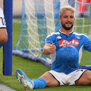 Dries Mertens' stunning Wag Kat Kerkhofs denies pregnancy rumours after he celebrates with football under his shirt