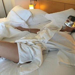 Victoria Beckham reveals her and David pamper themselves by wearing face masks in bed together