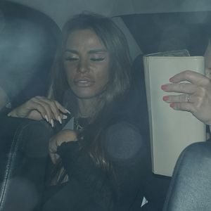 Katie Price looks worse for wear as she leaves Chris Eubank Jr's birthday in sheer top and PVC trousers