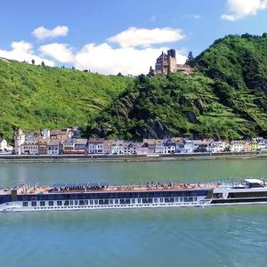 Sample champagne yoga and enjoy fairytale views on a river cruise along the majestic Rhine