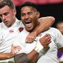 England 35 Tonga 3: Manu Tuilagi scores two tries but Eddie Jones' men fail to find top gear in Rugby World Cup opener