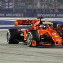 Sebastian Vettel wins Singapore Grand Prix as Charles Leclerc finishes second to make it Ferrari one-two finish
