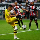 Jadon Sancho continues stunning start to Bundesliga season with another goal but Dortmund concede late to draw