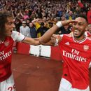 Arsenal fans in love with bromance as Aubameyang uses Pepe's celebration after scoring Villa winner