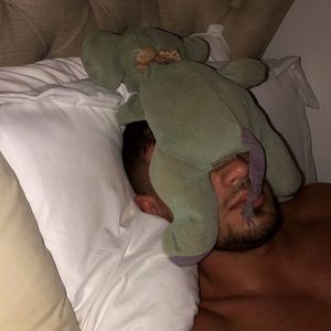 Molly-Mae shares sweet snap of Tommy Fury asleep with Ellie Belly as he jets in from Ibiza for her mum's birthday