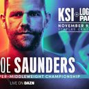 Saunders to defend super-middleweight title on undercard of KSI vs Logan Paul superfight