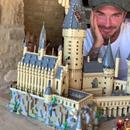 Victoria Beckham 'proud' after David FINALLY finishes Lego Hogwarts castle
