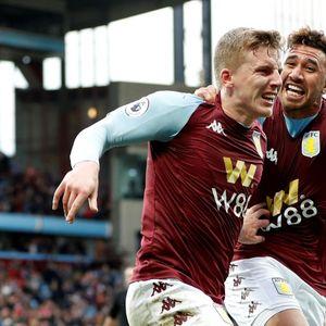 Aston Villa 2 Brighton 1: Targett strikes late to complete comeback and gift Dean Smith perfect anniversary present