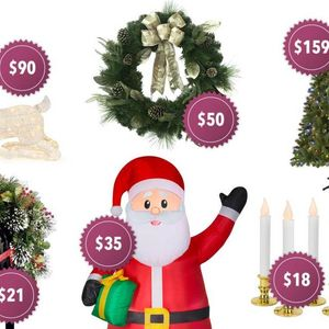 Best of Home Depot's Christmas range including trees, decorations and inflatables