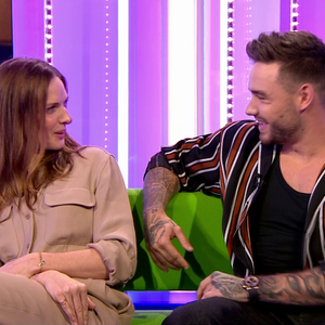Liam Payne and actress Rebecca Ferguson leave The One Show viewers CRINGING as they outrageously flirt