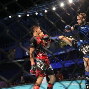 Russian monster Shamsutdin Makhmudov KOs USA's Jeremy Woolfolk in Super Heavyweight IMMAF-WMMAA World Championships