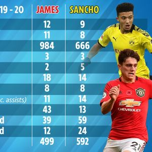 Man Utd fans beg Solskjaer NOT to sign 'overrated' Jadon Sancho as they claim 'electric' Dan James is better