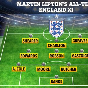 England's ultimate all-time XI according to SunSport featuring World Cup winners, centurions and goals galore
