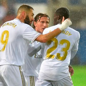 Hilarious highlights reel shows Benzema 'spent half a game teaching Mendy how to play football' in Real's win over Eibar