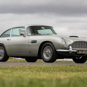 Limited-edition Aston Martin DB5 that featured on classic commemorative stamp sells for £600,000