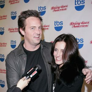 Do these pictures prove Matthew Perry has 'been in love' with Courteney Cox for decades?