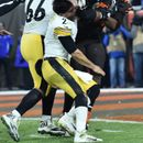 Steelers v Browns: Huge brawl erupts at NFL after Cleveland's Garrett smashes Pittsburgh QB Rudolph with his own helmet