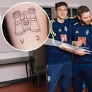 Man Utd ace Lindelof gives Sweden superfan a tattoo – and is amazed it's 'really good' after only getting a B in art