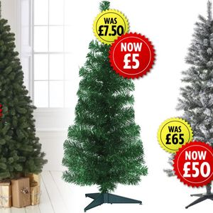 Wilko slashes Christmas tree prices by up to 33%