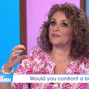 Loose Women's Nadia Sawalha confronted gang of burglars in her home