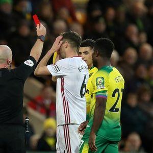 Norwich 1 Sheff Utd 2: Prem history made as VAR overturns Basham red after Blades fight back to keep unbeaten away run