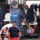 Patrick Reed's caddy gets into punch-up with fan during explosive row as Presidents Cup hits new low