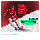 Pereira bizarrely tweets graphic for Man Utd's game against WATFORD… with Red Devils set to play Everton