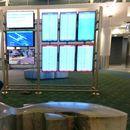 Passenger hijacks airport monitor screens to play his PS4 while waiting for his flight