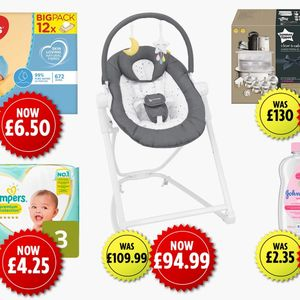 Asda launches huge baby sale with discounts on Pampers and Tommee Tippee