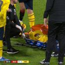 Mustafi carried off on stretcher in Bournemouth clash as Arsenal's defensive crisis gets worse